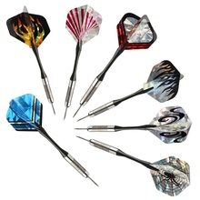 High Quality 30Pcs/10Sets Mixed 2D Bling Darts Flights Laser Tail Wing PET Bullseye Target Game Dart Replacement Accessories(China)