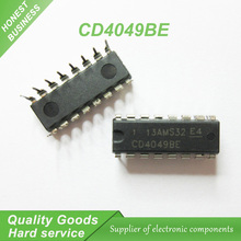 10pcs CD4049BE CD4049 HEF4049BP DIP-16 Buffers & Line Drivers Hex Inverting new original