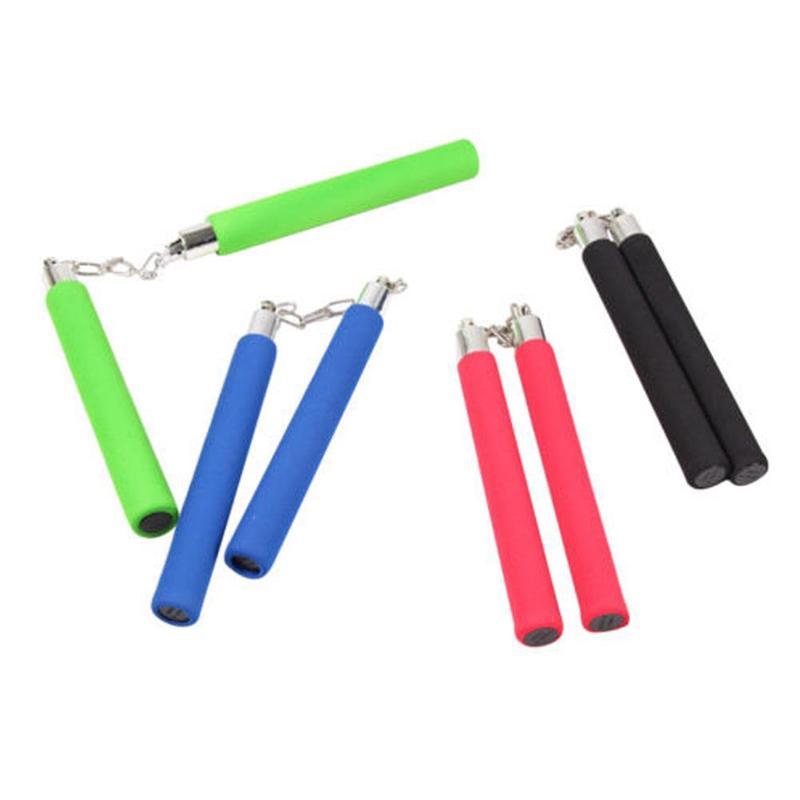 Training Foam Nunchaku Nunchucks Stick Practice for Karate Martial Arts Toys qwe