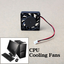 Brand New 1Pcs Black 2 Pin 12V DC 40mm (L) x 40mm (W) x 13mm (H) Brushless Fan PC Cooling Cooler Fan High Qualtiy(China)