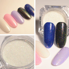 1 Box Shiny Nail Glitter Candy Powder Colorful Powder Manicure Nail Art Glitter Powder Decoration Accessories(China)