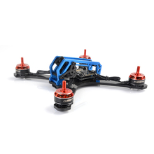 MANGO C029 210mm frame pure carbon fiber DIY mini FPV drone unassembled 4mm wing arm main plate(China)