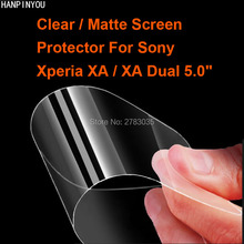 "For Sony Xperia XA / Dual 5.0"" New HD Clear / Anti-Glare Matte Screen Protector Protective Film Guard (Not Tempered Glass)"