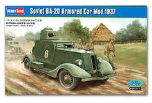 Hobby Boss 1/35 scale tank models 83882 Former Soviet Union BA-20 Armored vehicles 1937 type(China)