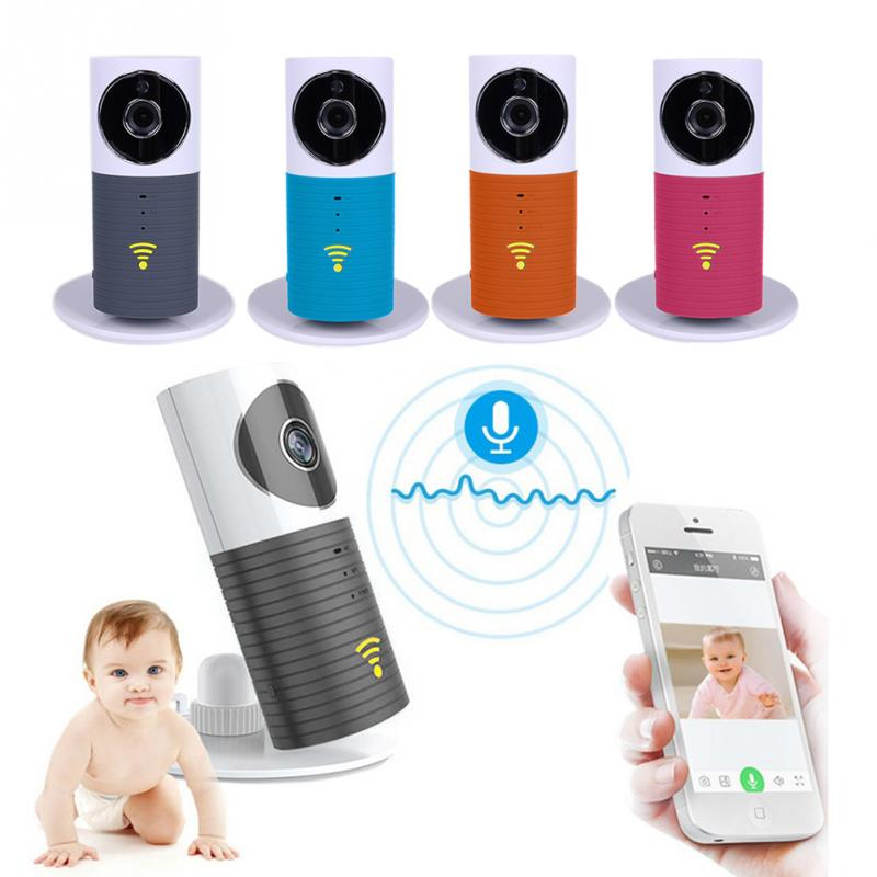 720P Mini Clever Dog Security Smart IP Camera with Wifi H.264 Wireless TF Card Storage with US plug<br>