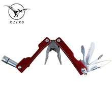 XILKO Hand Tools Pliers Kinfe Screwdriver Long Nose Pliers Bottle Opener Saw LED Lamp Hand Tools Pliers Multitool