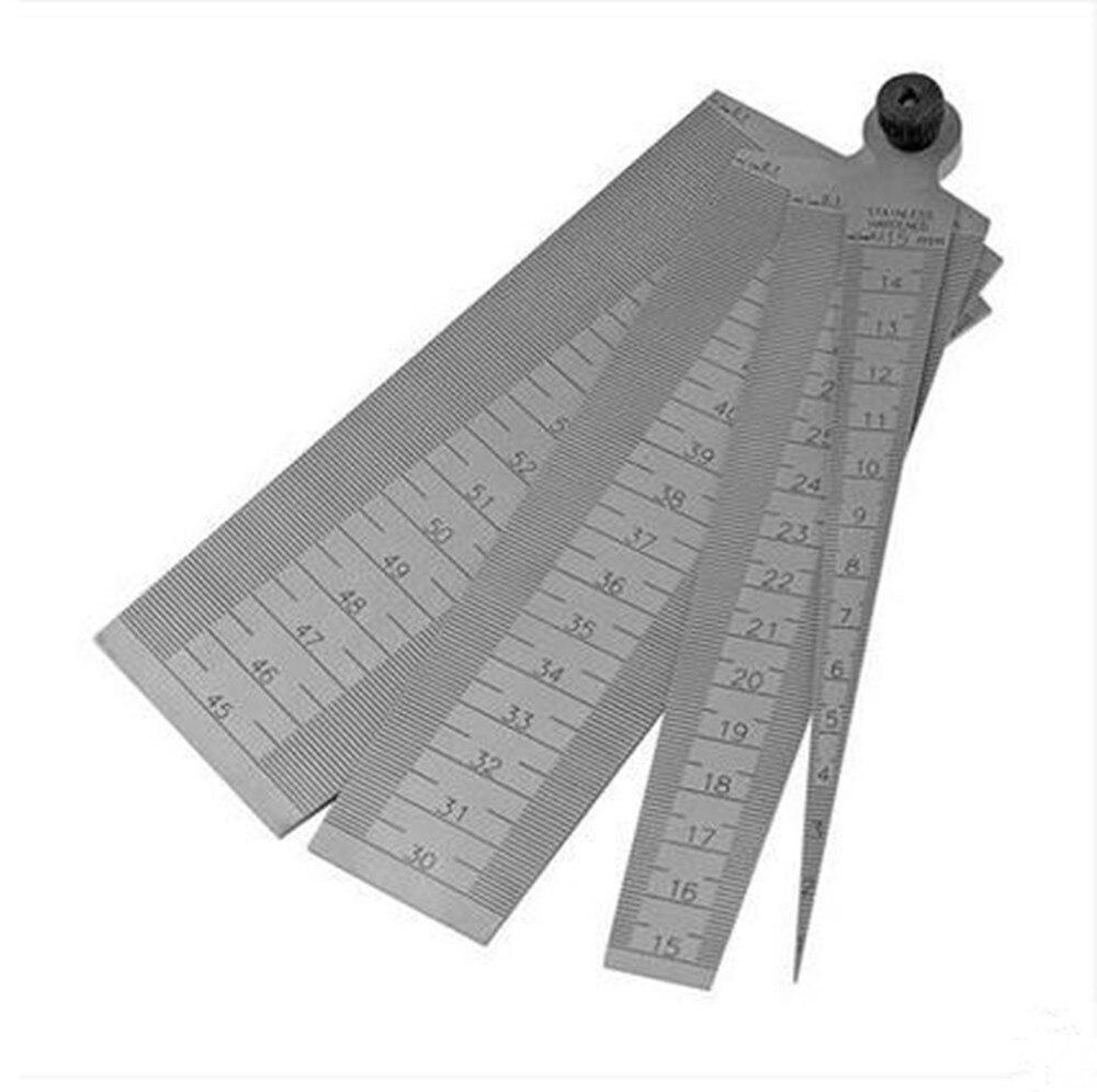 4 in 1 muti-fuction gap rule stainless steel 1-60MM  Wedge gauge  bore calliper Diameter gauge <br><br>Aliexpress