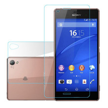 2Pcs=Front+Back Tempered Glass For Sony Xperia Z L36h Z1 Z2 Z3 Z4 Z5 Compact Mini M4 Aqua M5 Screen Protector Cover Case Film