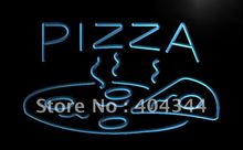 LB004- OPEN Hot Pizza cafe Restaurant   LED Neon Light Sign     home decor  crafts