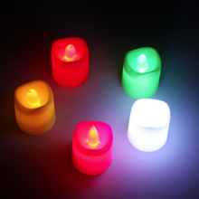 Flameless Votive Christmas Candles Battery Operated Flickering LED Tea Light Worldwide Store