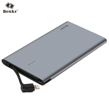 Benks Original E400c MFI Certified 4000mAh 2.1A Power Bank For iPhone Fast Charge External Battery Charger For Lightning Device