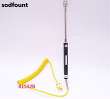 Free Shipping Temp Measurement Tool NR-81532B K Type Handheld Surface Thermocouple Probe electrical equipment