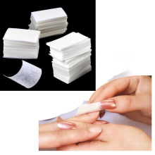 Newest!!! 900X Lint Free Nail Art Manicure Polish Remover Cleaner Wipe Cotton Pads Paper Manicure Tools