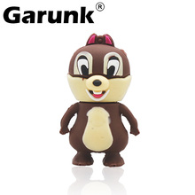 Amthin Real capacity 2GB 4GB 8GB lovely squirrel 16GB 32GB 64GB Pendriver USB Flash Memory USB Flash Drive Cartoon Squirrel Drop