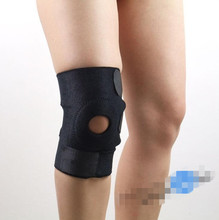 Durable Patella Men Support Strap Brace Pad Knee Protector Sports Equipment Hole Kneepad Safety Guard Knee Brace Support