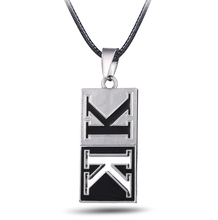 MS JEWELS 6pcs Batch Anime K Missing Kings Metal K Logo Symbol Pendant Necklace Cosplay Jewelry Fans Gifts Accessories Wholesale(China)