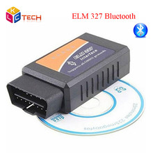 2016 Best Sale ELM327 Bluetooth ODB2 Auto Diagnostic Interface Scanner ELM 327 Bluetooth V2.1 Car Scan Tool For Multi-Brand