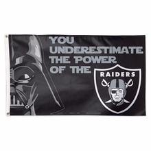 Oakland Raiders Star Wars Team Logo Large banner Indoor Outdoor High Quality Football Flag 3X5 Custom flag
