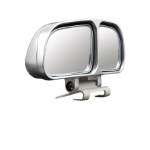 2pcs Vehicle Car Blind Spot Mirrors Square Mirror Wide Angle Rear Mirrors Side RearView