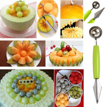 Useful Kitchen Plastic Model Cooking Fruits Slicers Vegetables Tools Carve Patterns Device Veggie Cutter Cake Tools Random Color