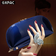 New Arrival 2017 Women Summer Hot Sale Candy PU Patent Leather Clutches Fashion Star Style Evening Bags Luxury Purse