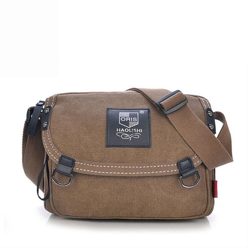 2017 Korean Version Versatile Man Canvas Bag Casual Handbags Shoulder Bag men Messenger Bag Men and Women Messenger Bags<br><br>Aliexpress