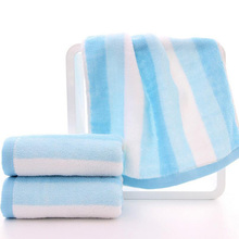 1Pc Wholesale 74*34cm Colorful Rainbow Absorbent Microfiber Cotton Bath Beach Towel Drying Washcloth Swimwear Shower