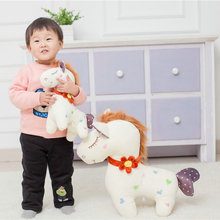 Large size toys  Soft cushion stuffed plush horse doll kids toys birthday gift 35-95CM Cartoon horse plush toys baby pillow