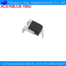ACS758LCB-100U ACS758LCB ACS758 current sensor provides economical and precise solutions for AC or DC current sensing 2p/lot(China)