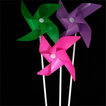Led Clothes 2017 New Product 20pcs/lot Led 4 Leaves Windmill Pinwheel Toy For Children Gift Plastic Multicolor Free Shipping