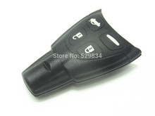 New Replacement 4 button smart remote key cover for SAAB / FOB key case without key blade 1pc()