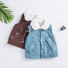 Sleeveless 2018 warming autumn winter clothes children kids boys girls cotton high quality boys girls vest outwear outwear