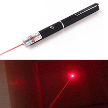 1 PC Powerful Laser Pointer Pen Puntero Laser 5mw Caneta Lazer Red Hunting laser Sight device Free Shipping