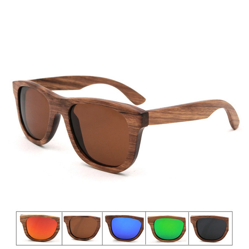 2017 new classic Polarized lens Sunglasses Gafas Oculos Men/Women Common popular personality wooden Handmade frame Glasses<br><br>Aliexpress
