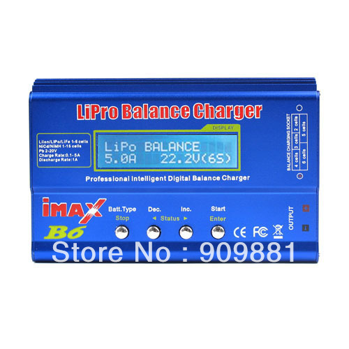 New RC  IMAX B6 Digital Charger LIPO MIMH Battery Balance Charger With Package Box Easy To Operation <br><br>Aliexpress