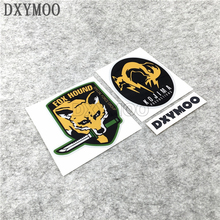Car Stickers Patch Tactical SPECIAL FORCE GROUP Combat Fox Motorcycle Decals for FOX HOUND 12cm(China)