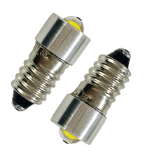 E10 P13.5S Flashlight Bulb 0.5W 1W Emergency Light Bulbs 3V 4.5V 6V LED Bulbs For Focus Flashlight Replacement Bulb Torches