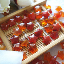 Natural Red Agate Star Shape beads stone 10mm sardonyx stone charm DIY jewelry accessories