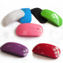 Wireless Mouse 2.4G RF 1000 DPI Optical Computer Mouse 3 Keys USB Gaming Mouse Ultra thin Mouse Gamer Mice for Windows Vista Mac(China)
