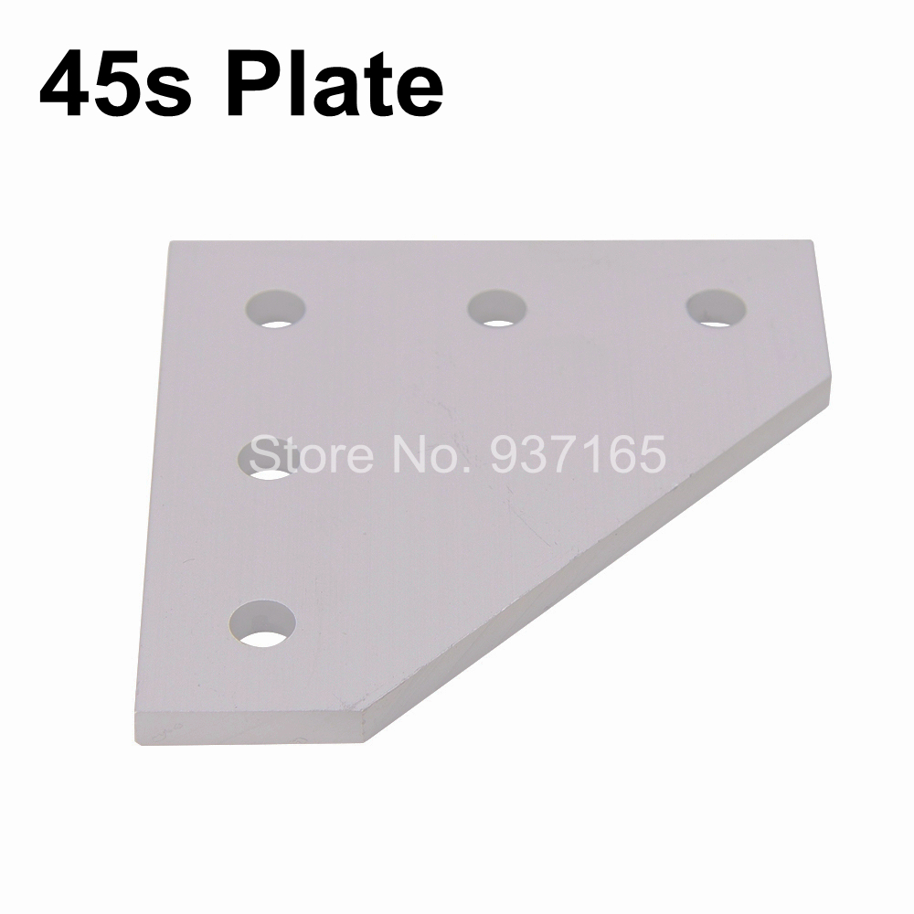 5 Hole 90 Degree Joint Board Plate Corner Angle Bracket Connection Joint Strip for Aluminum Profile 4545 45x45 with 5 holes<br><br>Aliexpress
