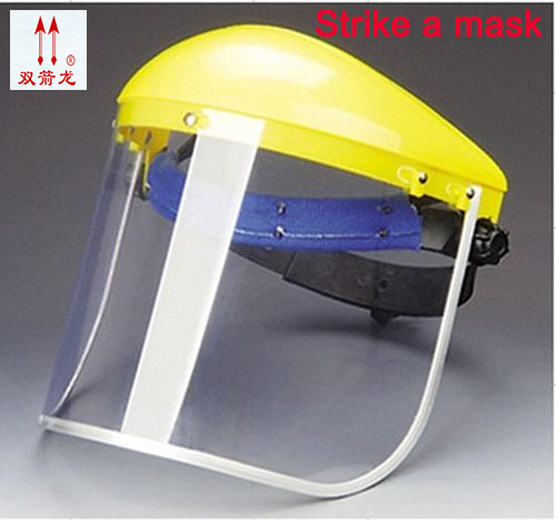 new welding mask ABSpantalla soldadura comfortable type high temperature 250 degree of safety of transparent mask<br>