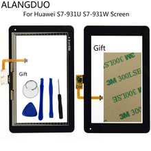 ALANGDUO Replacement Screen For Huawei s7 Lite 7 inch s7-931U S7-931W Touch Screen Display Front Glass Sensor Assembly Free Tool