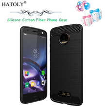 sFor Motorola Moto Z Case Cover for Motorola Moto Z Phone Case for Motorola Moto Z XT1650 Phone Bag Soft Silicone Armor HATOLY(China)