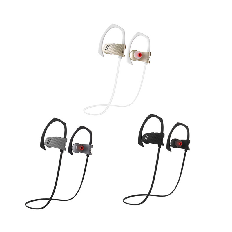 Wireless Headphone Bluetooth 4.1 Earbuds Mic Sport Stereo Headset Noise Cancelling Sweatproof Earphone with CSR 8635 Import Chip(China (Mainland))