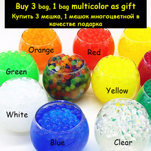 1 bag Plant Crystal Soil Mud Grow Water Beads Hydrogel Magic Gel Jelly Balls Orbiz Sea Baby Growing in Water Vase Home Decor(China)