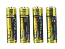 Bulk 12Pcs in Wholesale Price Super Alkaline LR6 AA 1.5V/360min Dry Battery for MP3, toys BTY