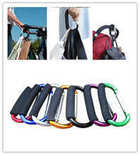 1pcs Baby Stroller Hook Stroller shopping hook Accessories Pram Hooks Hanger for Baby Car Carriage Buggy(China)