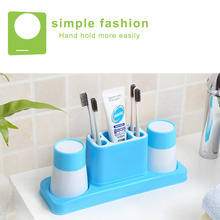 Home Use Toothbrush Holder For A Family Of Two Bathroom Toothbrush Holder Accessories Creative Household Toiletries Wash Kit