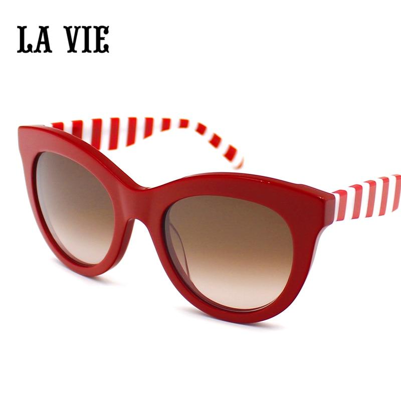 LA VIE Fashion Children Cat Eye Glasses Goggles Classic Vintage Sunglasses UV400 Boy Girls Cute Coating Sun Glasses LVSA010<br>