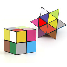 Colorful Changing Cube 3D Puzzle 2017 new fidget Educational Toys Infinity Cube Antistress Toys
